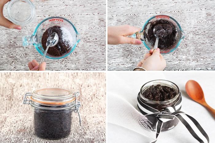 Простой скраб для тела в домашних условиях из молотого кофе