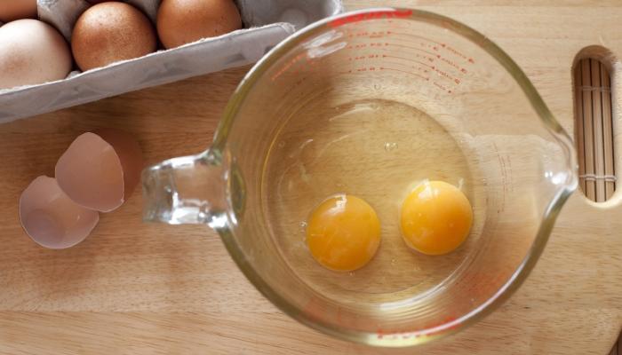 Маска для волос с яйцом-результат