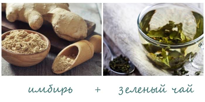 Народные средства от прыщей - имбирь и чай