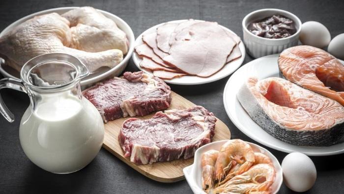 Богатые белком продукты животного происхождения