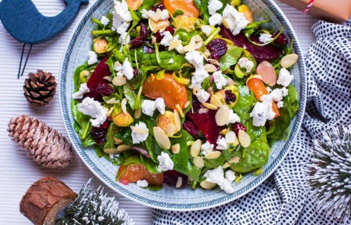 Легкие овощные салаты на Новый год со свеклой. Очень вкусно