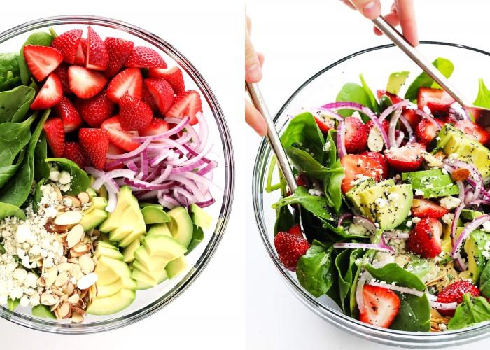 Полезные салаты на Новый год: рецепты без майонеза, с зеленью и овощами