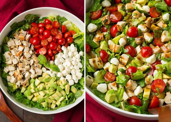 Полезный и вкусный салат с курицей на Новый год и Рождество